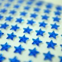 Sticker Stars Kristal Timbul . Stiker Hadiah Anak Bintang Manik Gift