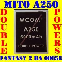 Baterai Batrai Batere Batre Mito A250 Ba00058 Fantasy 2 Sound M Com