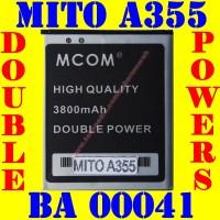 Baterai Batrai Batere Batre Mito A355 BA00041 M COM