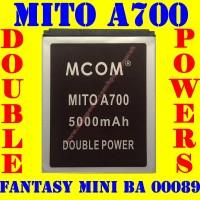 Baterai Batrai Batere Batre Mito A700 BA00089 Fantasy Mini M COM