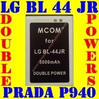 Baterai Batrai Batere Batre LG BL 44 JR Prada P940 SU880 M COM