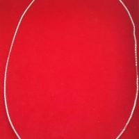 kalung emas putih kadar 75% berat 4,36 gram, asli