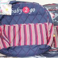 Tas Perlengkapan Bayi Rainbow / Diaper Bag - Baby 2 Go