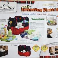 Tas Perlengkapan Bayi / Diaper Bag - BABY SCOTS #ISEDB011