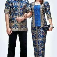 Sarimbit / Pasangan / Couple / Keluarga / Seragam Batik 1459 Biru