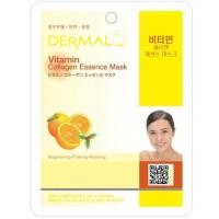 Dermal Vitamin Collagen Essence Mask Original 100% Korea