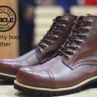 Circle Boot Safety / Sepatu Boot Pria  / sepatu Boot Trendy Murah
