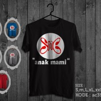 Kaos slank cover album anak mami,tshirt slank anak mami