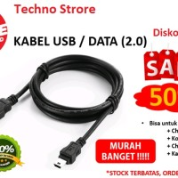 KABEL USB untuk Stik PS3, PSP ke Comp, Charge HP usb 2.0 Paling Murah