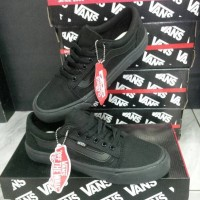 Sepatu vans - vans old skool full black