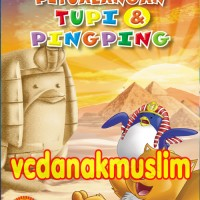 PAKET VCD PETUALANGAN TUPI DAN PING-PING VOL 2