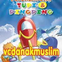 PAKET VCD PETUALANGAN TUPI DAN PING-PING VOL 1