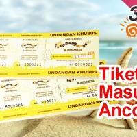 Tiket Masuk Taman Impian Jaya Ancol (5 lembar)