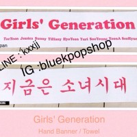 Banner / Towel Kpop Girls Generation / SNSD Import