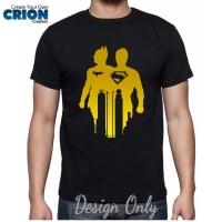harga Kaos Batman Vs Superman - Batman V Superman Gold - By Crion Tokopedia.com
