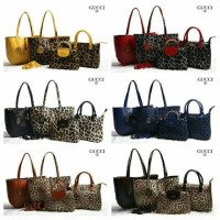 New Gucci Leopard Bolbal 3in1 (2121)