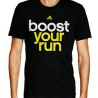 Baju / Kaos Adidas Boost Your run