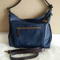 TAS FOSSIL Vickery Navy [ORIGINAL FOSSIL BAG]