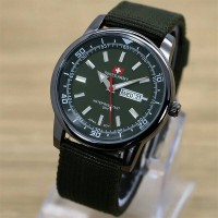 Jam Tangan Swiss Army Day Date (Green Army)