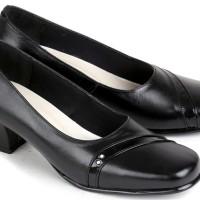 Sepatu Pantofel Wanita / Sepatu Kerja Wanita / Pantofel Heel E 556
