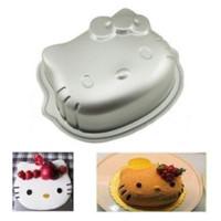 Loyang Cetakan Kue Roti Bolu Cake Mold Pan Oven Karakter Hello Kitty L