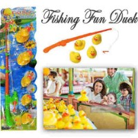 Fishing Fun Duck alat pancing anak mainan kail bebek itik game play