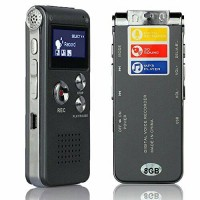 Voice Recorder Suara Mp3 Player 8GB