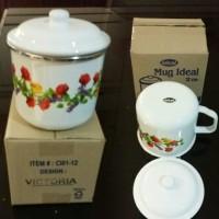 IDEAL Mug Enamel 12 cm