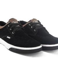 harga Sepatu Sekolah / Sneaker / Kets / Casual Pria Hitam Catenzo - Tf 105 Tokopedia.com