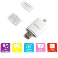 Jual iReader Lightning Card Reader TF Card & Micro SD Slot Murah