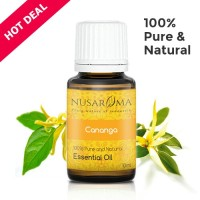10ml - Cananga Essential Oil (Minyak Cananga) | 100% Pure & Natural