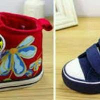 harga Sepatu walker anak perempuan import boot Lady Bug biru / merah - NEW Tokopedia.com
