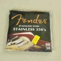 1 Set Senar Gitar Sainless Steel 350's - Fender