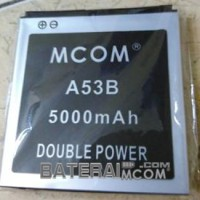 Baterai Battery Double Dobel Power Cross A53B A12B A5P Mcom 5000Mah