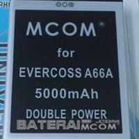 Baterai Battery Double Dobel Power Cross Elevate Y A66A  Mcom 5000Mah