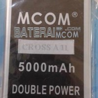 Baterai Battery Double Dobel Power Cross A11 A-11 A 11 Mcom 5000Mah