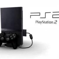 Murah !!! Ps2 Sony Slim Optik + Dua Stick Analog + 10 Kaset Game
