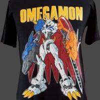 T-shirt Kaos Anime Omegamon (digimon series)
