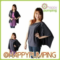 Jual Apron Menyusui/Nursing Cover Autumnz Nursing Poncho-Glamorous Graphite Murah