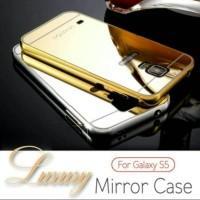 Samsung galaxy S5 Mirror Metal Bumper Back Cover Case