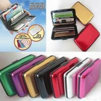 Aluminium Card Storage / Dompet Kartu ATM Kartu Kredit / Card Wallet