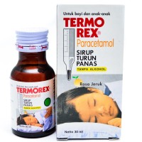 Termorex 30ml obat turun panas / NYERI / DEMAM anak anak