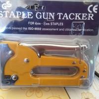 STAPLE GUN TACKER / TEMBAKAN STAPLES (ALISAN)
