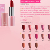 Lips Make Up - Pixy - Silky Fit Lipstick (Dozen)
