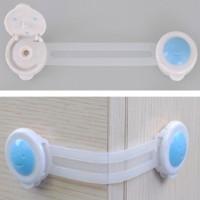 Kunci pengaman serbaguna untuk kulkas lemari oven microwave dari anak