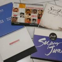 Paket Kalender Super Junior (bekas)