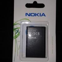 harga Baterai Batre Battery Nokia BL-5CB BL5CB Original 100% Tokopedia.com