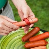 spiral hot dog slicer (alat penghias pemotong sosis hotdog makanan)