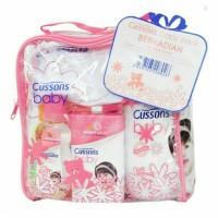 harga Cussons Baby Pack Bag Free Face Towel (Paket Tas Toiletries) Tokopedia.com