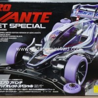 Tamiya #95062 Miini 4WD Aero Avante Violet Special - AR Chassis